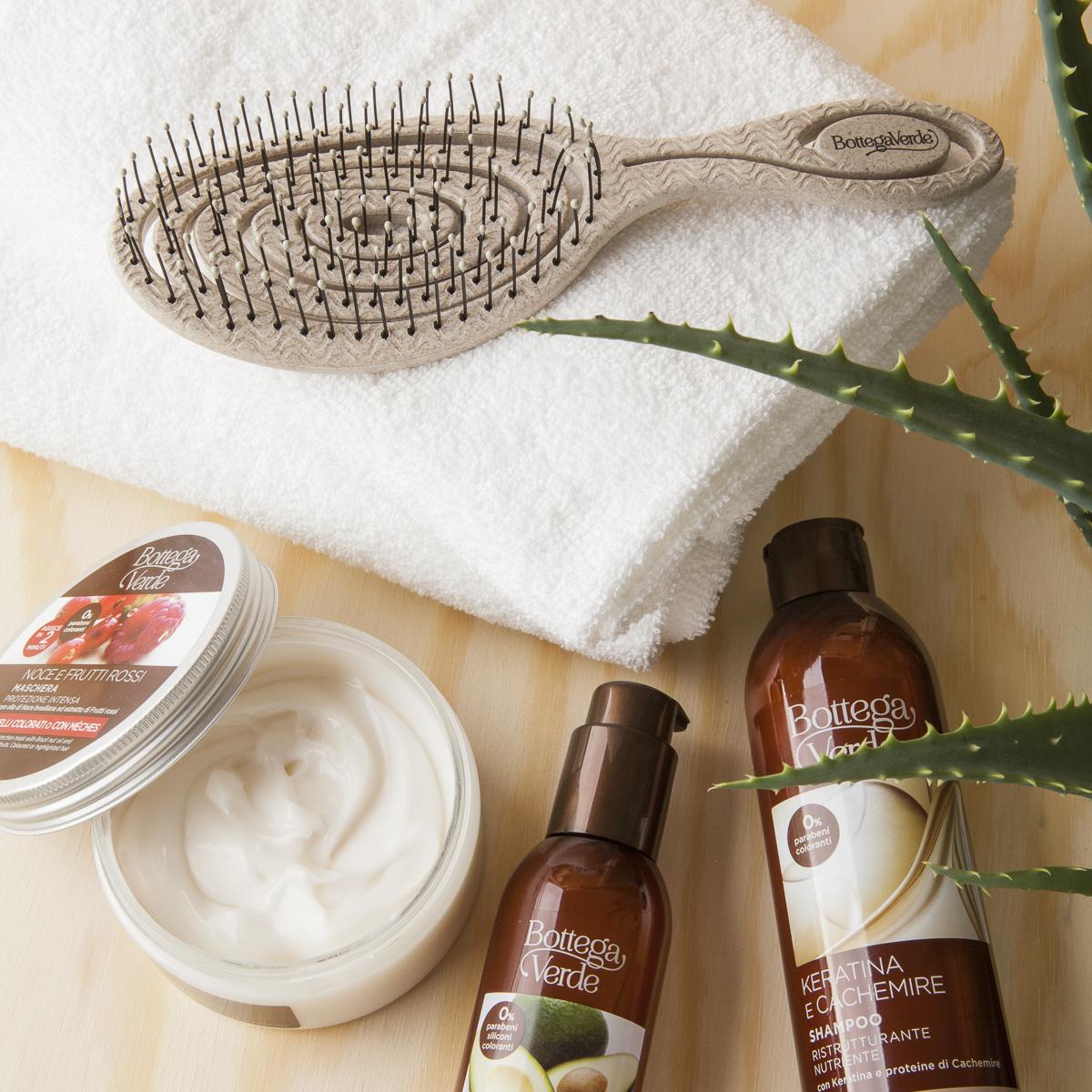 spazzola capelli aloe