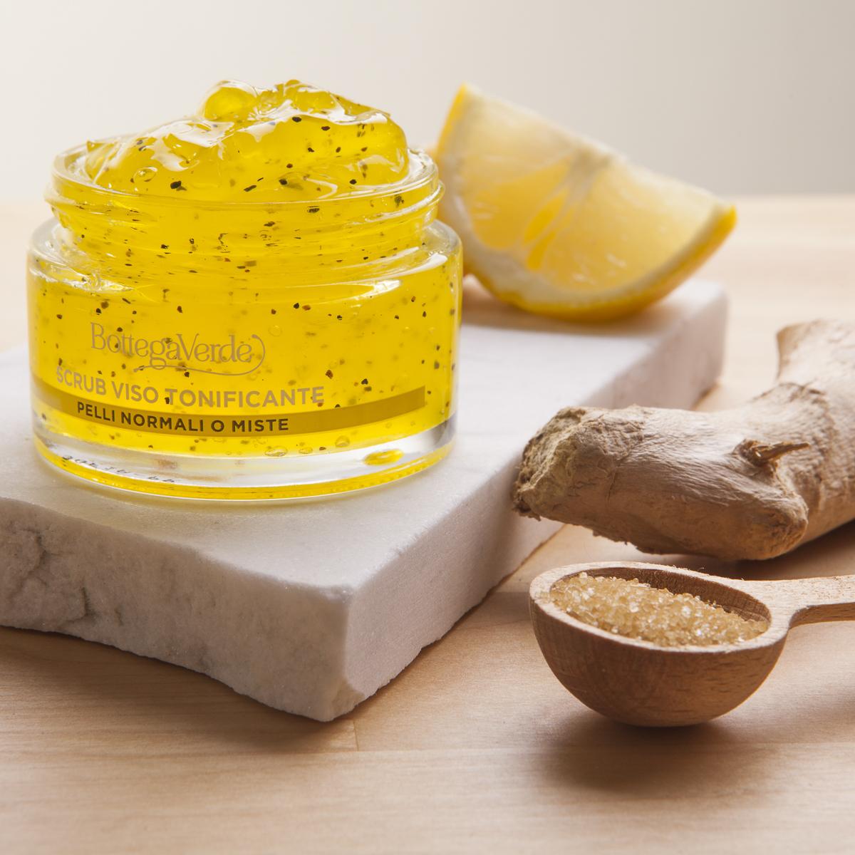 cosmetici zenzero limone foto per Instagram Bottega Verde
